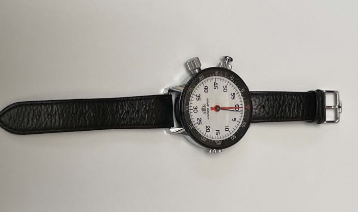 Pre owned Vintage Heuer Game Master wrist stopwatch