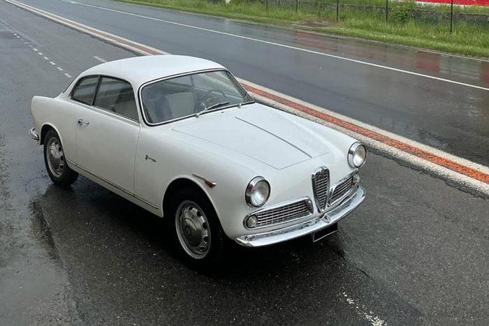 Alfa Romeo Giulietta Sprint 1960 Machining numbers.