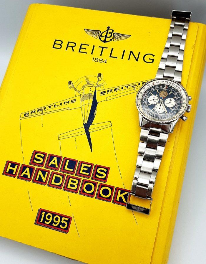 Breitling Old Navitimer Mechanical Chronograph Lemania 1873, circa 1993