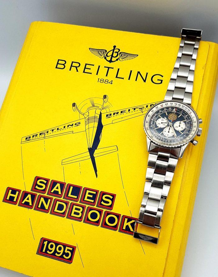 Breitling Old Navitimer Chronographe Mécanique Lemania 1873, circa 1993.