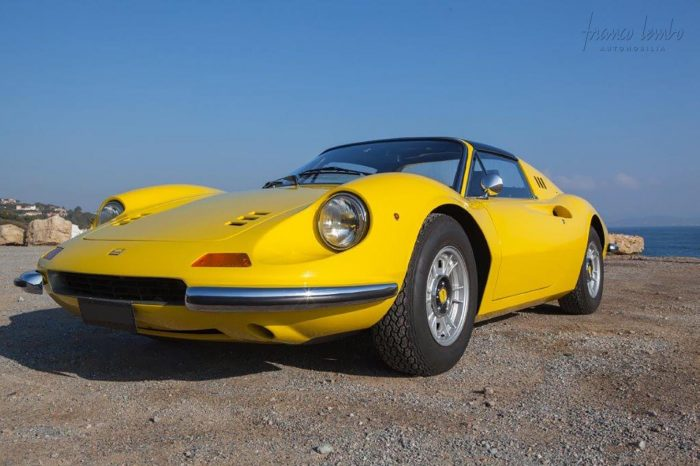 Dino GTS Giallo Fly, matching numbers 1973.