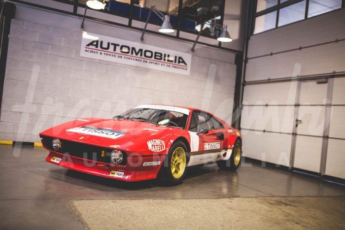 Ferrari 308 Vetroresina 1976 , Réevocation GR 4 .