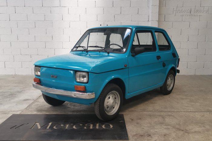 Fiat 126 1977 Adriatic blue 650 cc