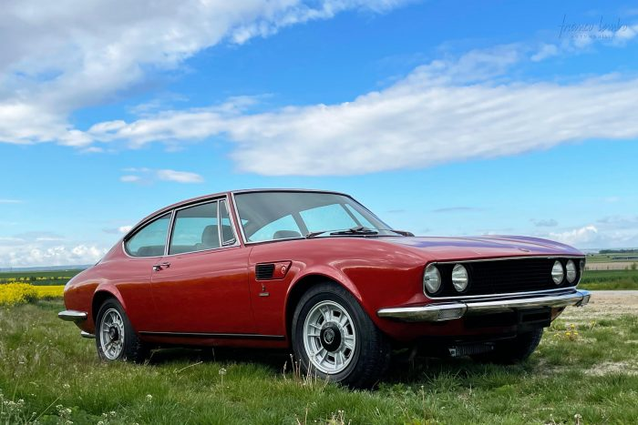 Fiat Dino coupé 2.4 L, Rosso Ossi N ° 163, 1971, Matching numbers.