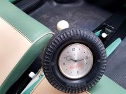 Horloge Publicitaire Pirelli année 50.