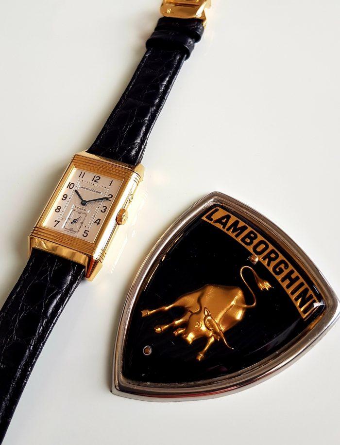 Jaeger-Lecoultre Duo Face Grande Taille Or, Circa 1990.