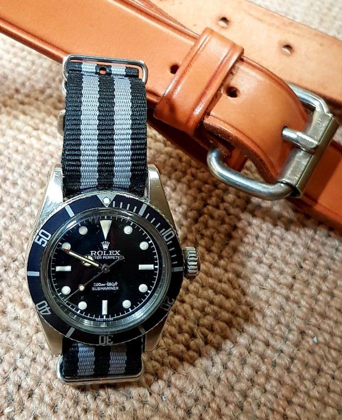 Rolex Submariner No date James Bond Automatic 6538, circa 1955.