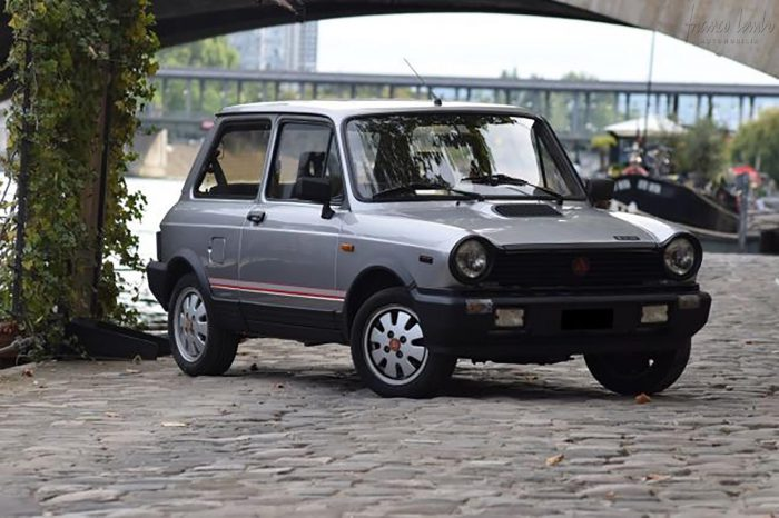 Autobianchi / Lancia A 112 series 7 1984 only 42,000 kilometers original, sold by Chardonnet.