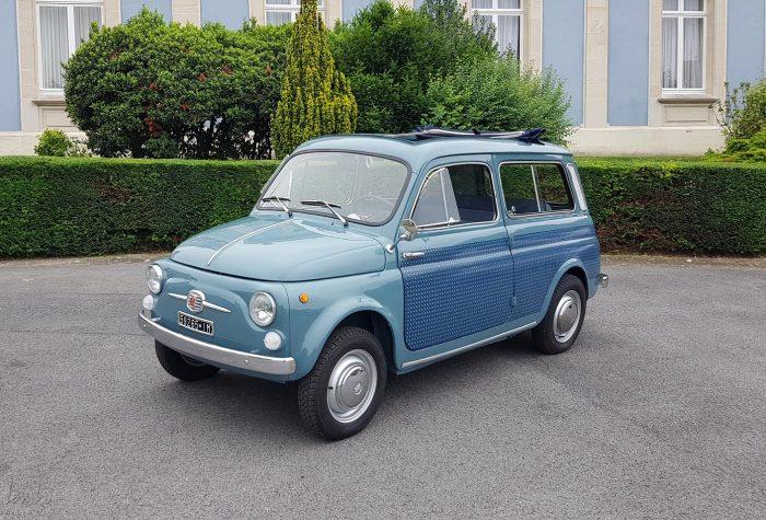 Unique Fiat 500 D Giardiniera Break 1960.