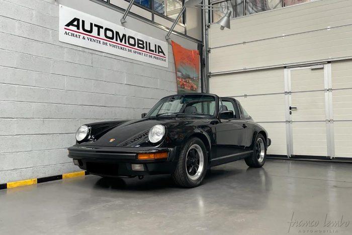 Porsche 3.2 Targa G50 1987. Matching numbers