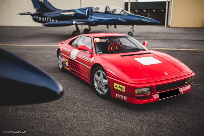 Ferrari 348 Challenge 1991 one of the 32 built ex J Louis Deglise, full history only 27 000 kilometers , accident free .